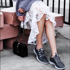 Allbirds Womens Wool Runners Size 8 Charcoal gray